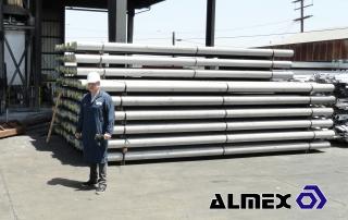 Almex Aluminum Billets